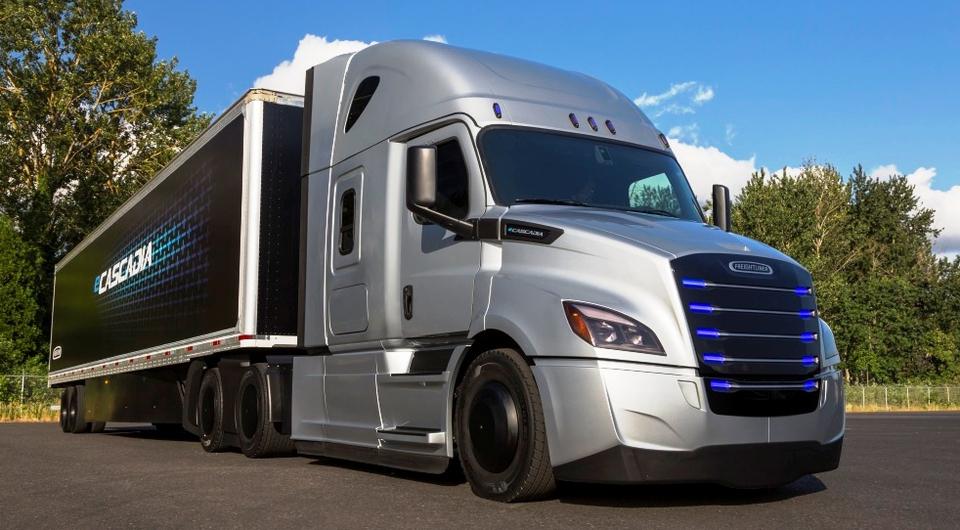 Freightliner начинает эксплуатационные испытания электротраков