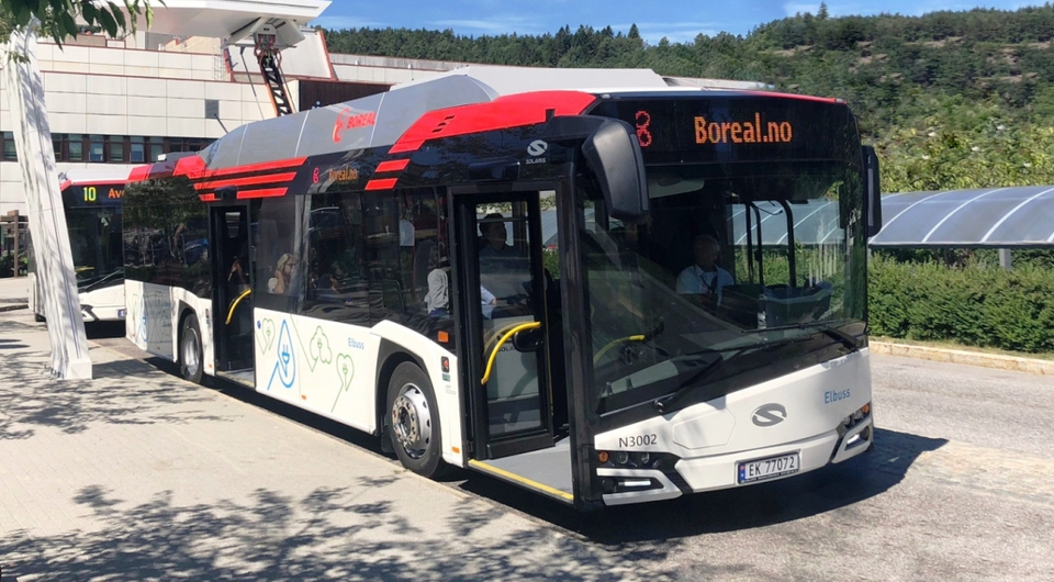 Пять электрических Solaris поставлены в Норвегию