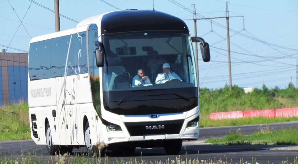 Автобус MAN помог выявить лучших водителей