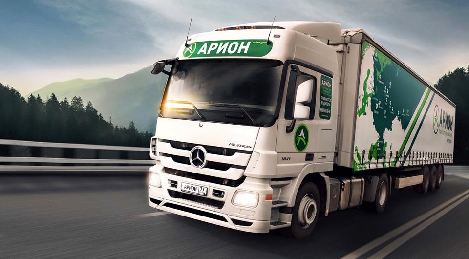 Сотня Mercedes-Benz Actros для компании «Арион»