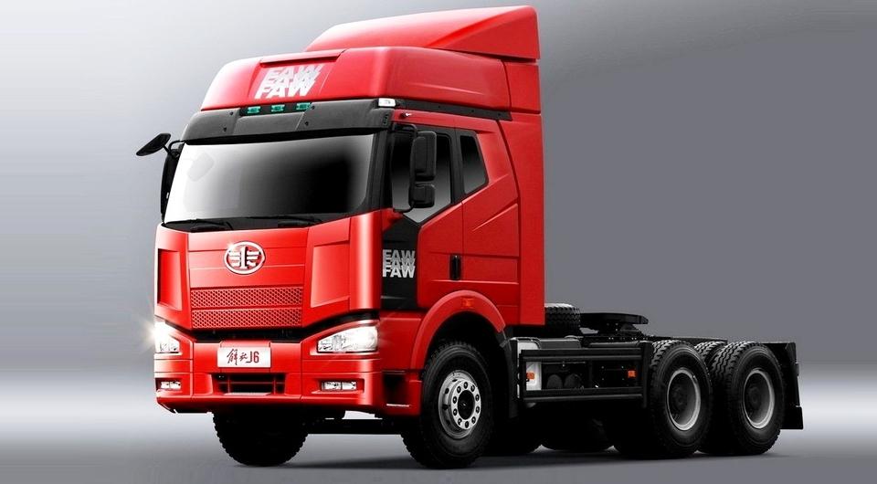 Продажи грузовиков FAW в России выросли на 171%