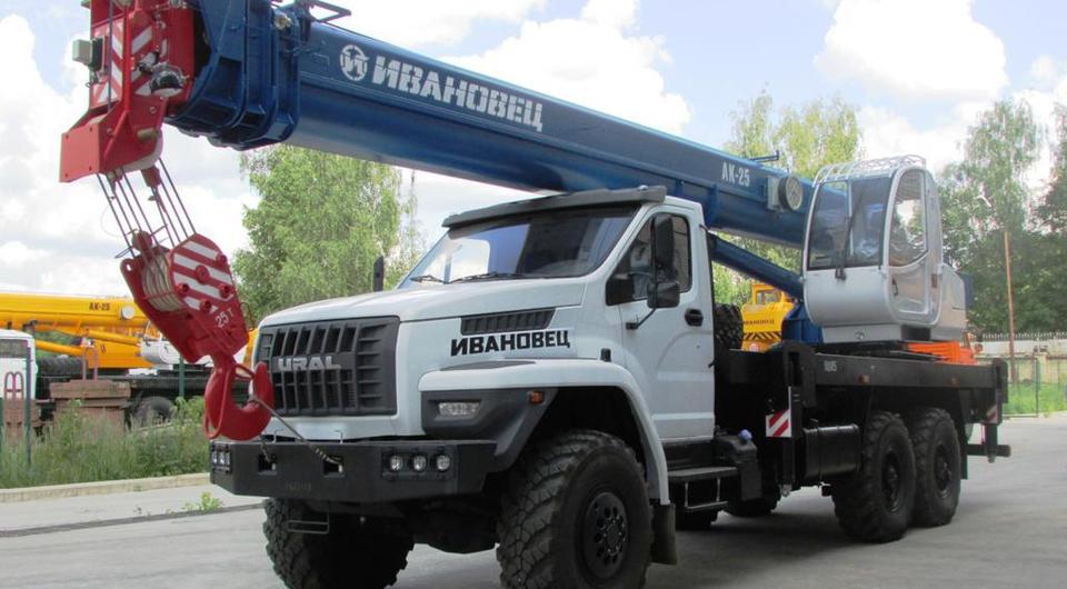 Автокраны «Ивановец» для компании «Транснефть»