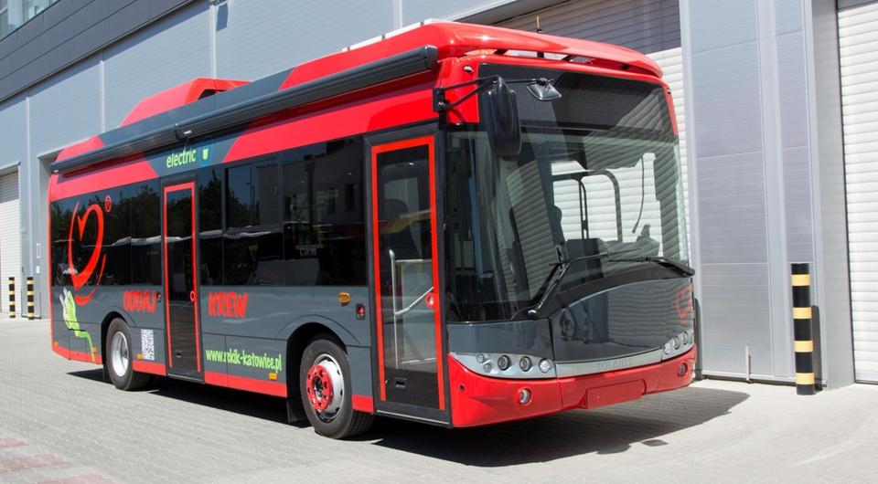 Электробус Solaris стал донорским центром