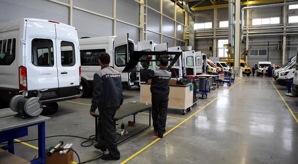 В Алабуге будут делать спецверсии Ford Transit