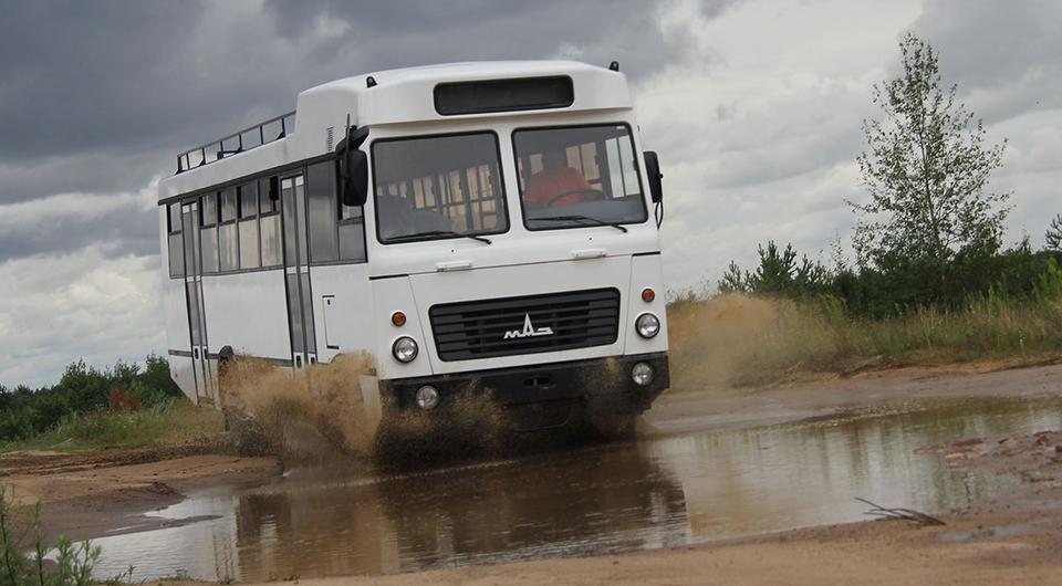 МАЗ снова берется за африканский автобус