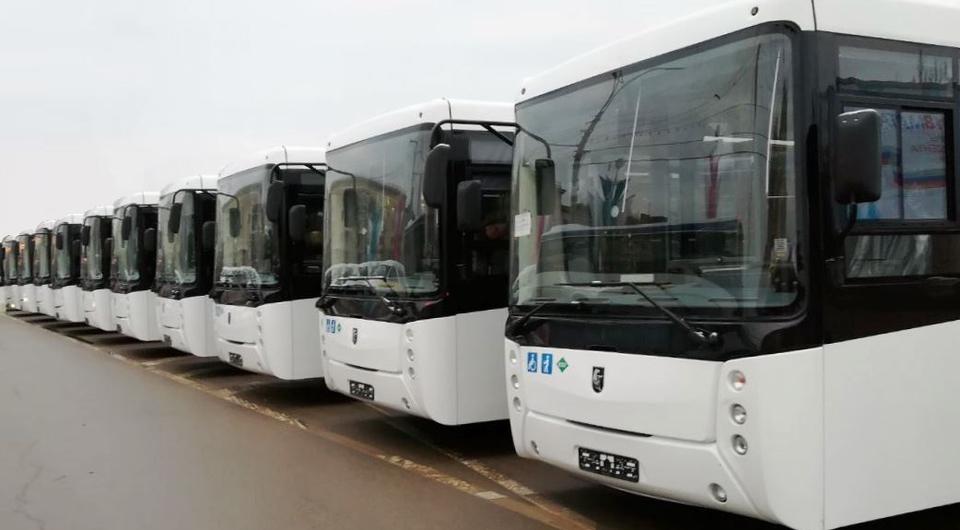 Санкт-Петербург получил 12 автобусов НЕФАЗ