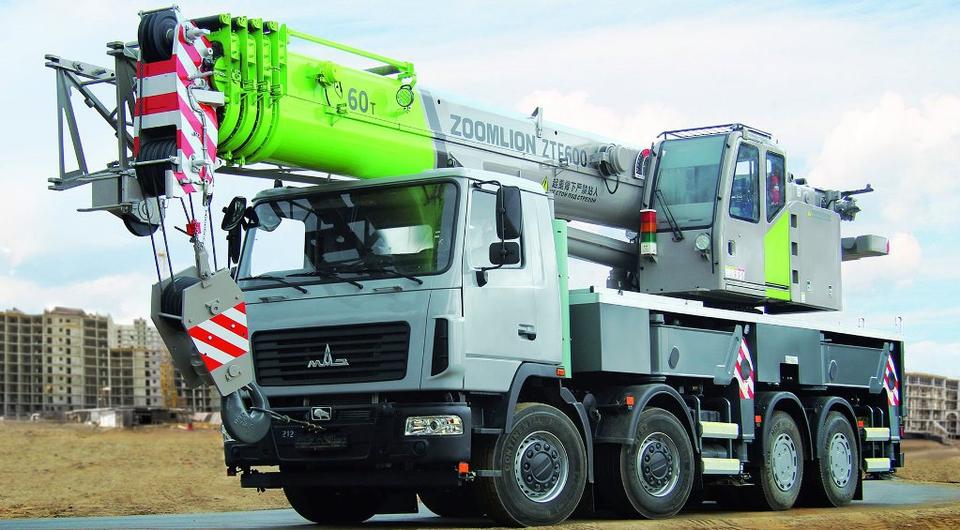 «Зумлион-МАЗ» начал выпуск 60-тонных автокранов