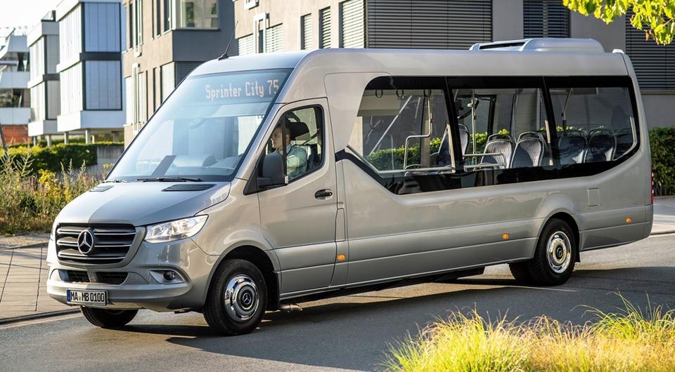 Sprinter City 75: новая генерация минибусов