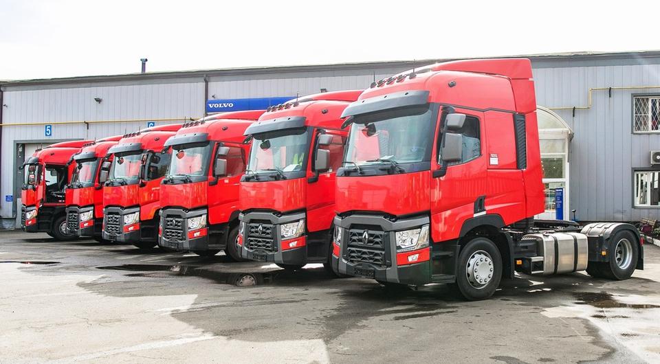 Renault Trucks. Сентябрьские поставки