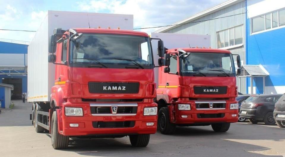 Фургоны АМЗ для КАМАЗов нового поколения