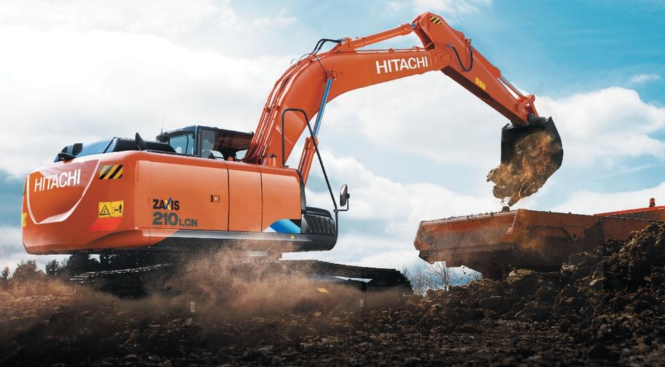 Hitachi ZX210LCN-5A начали производить в России