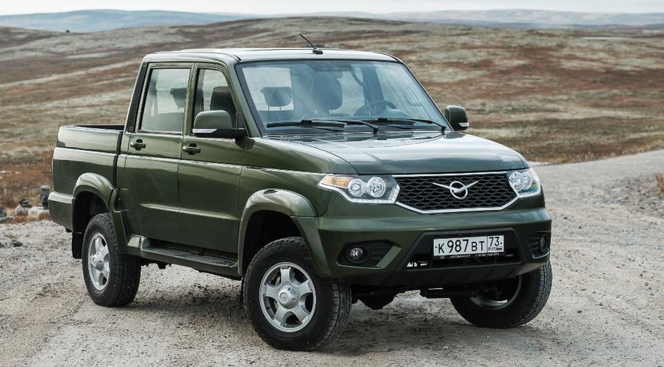 Стартовали продажи обновленного «УАЗ Пикап»