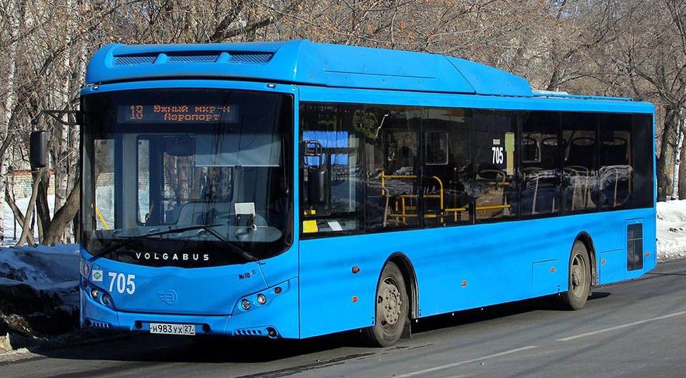 Газовые автобусы Volgabus отправились в Хабаровск