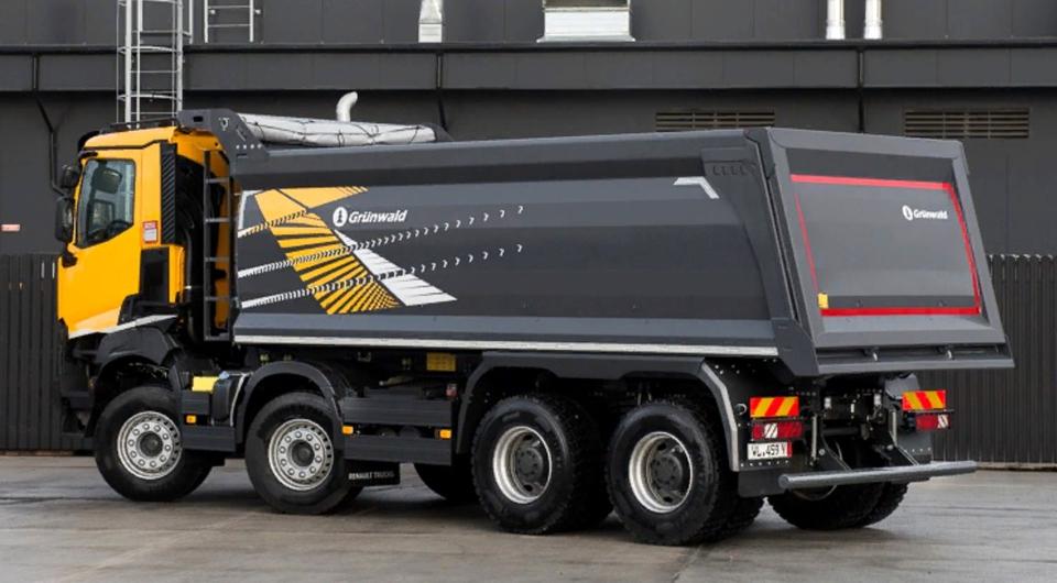 Самосвальный кузов Grunwald для Renault Trucks K440