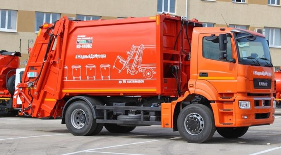 КОММАШ: новый мусоровоз на новом КАМАЗе
