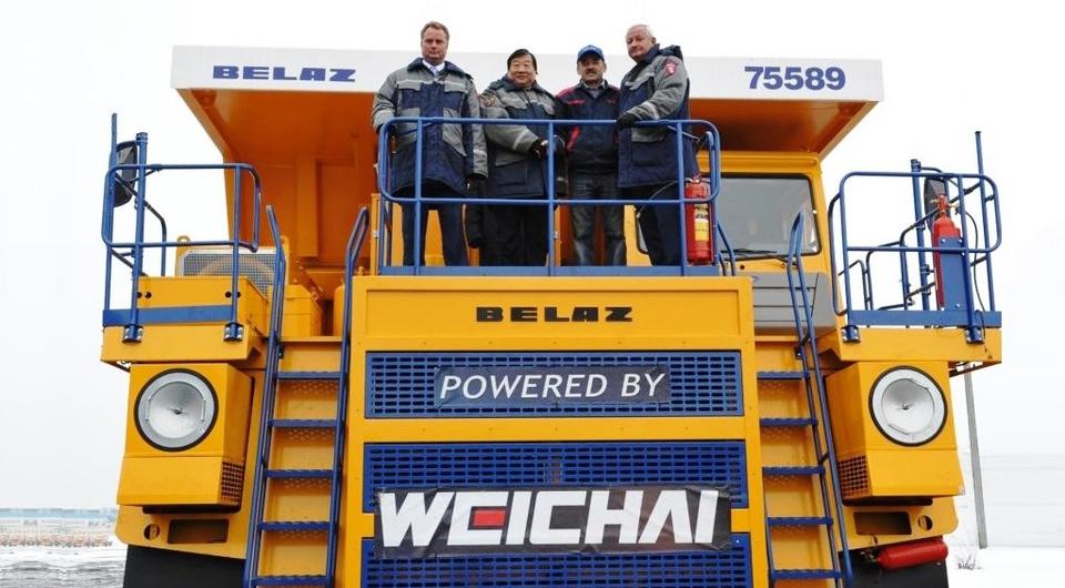 Двигатели Weichai для белорусских самосвалов-гигантов