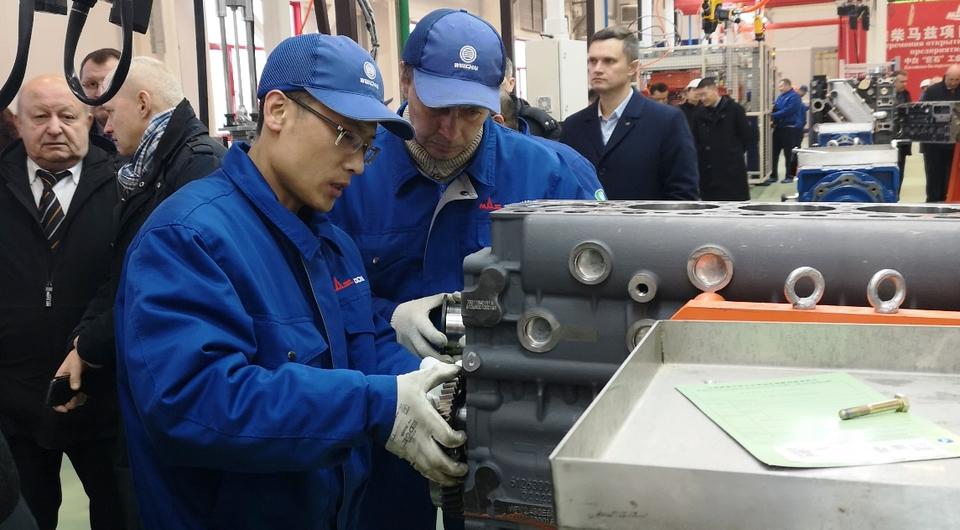 Белорусский Weichai: старт сборки двигателей