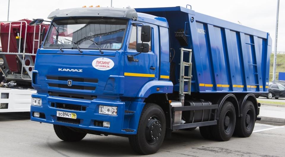 Четыре десятка КАМАЗ-6520 для Хабаровска
