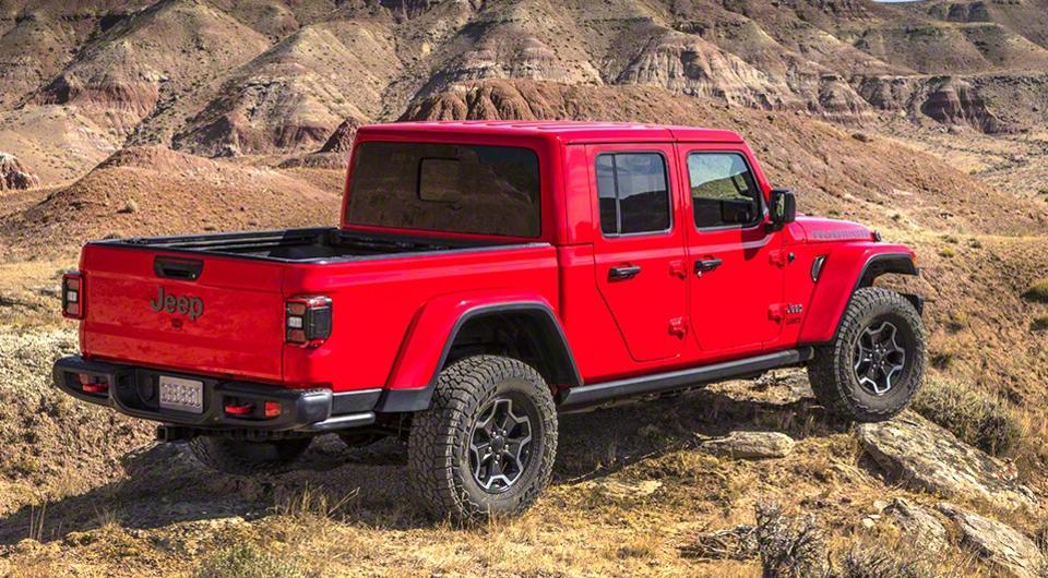 Jeep Gladiator: пикап выходит в свет