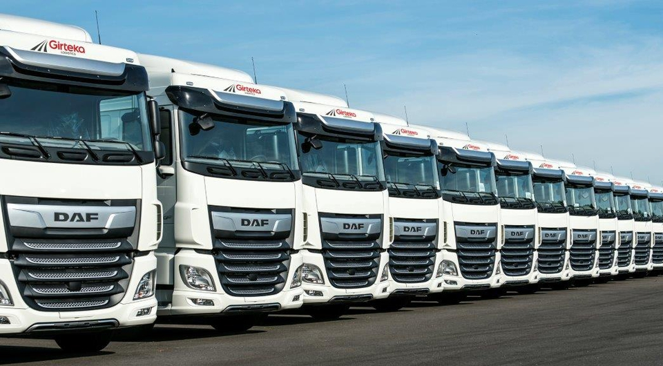 Компания Girteka Logistics заказа 1500 тягачей DAF XF