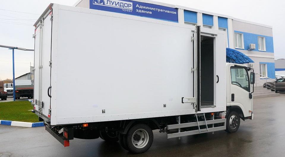 ISUZU ELF поучил фургон-рефрижератор «Луидор-Тюнинг»