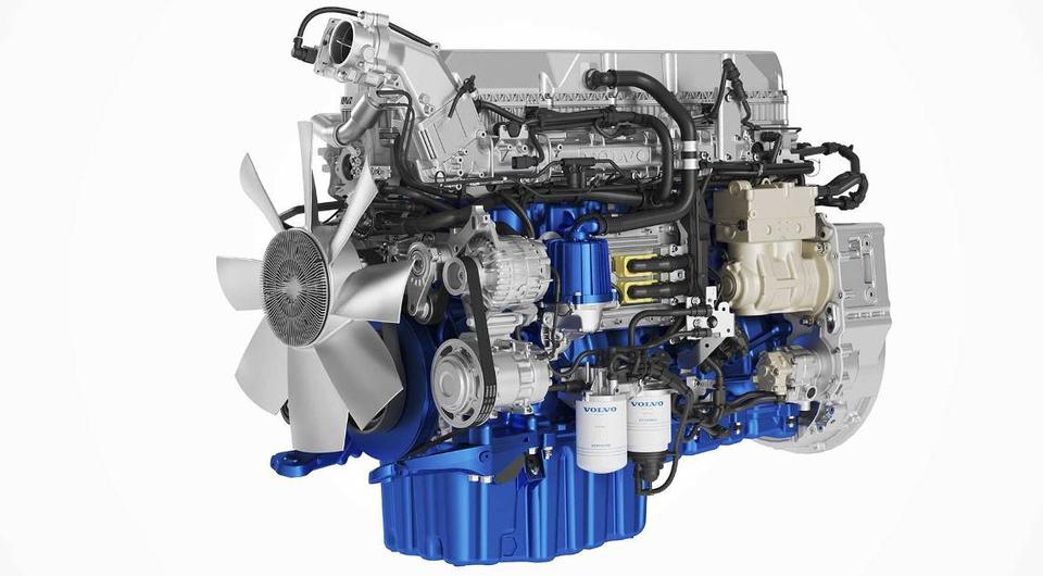 Volvo Trucks модернизирует дизели D11 и D13