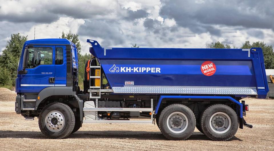 Самосвал MAN TGS с новым кузовом KH-KIPPER W1CЕ