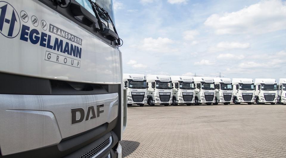 Hegelmann Transporte покупает более полутысячи DAF XF