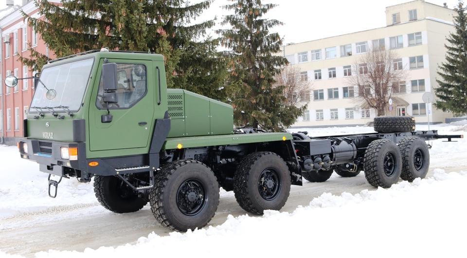 КрАЗ-7634НЕ нашел применение в украинской армии