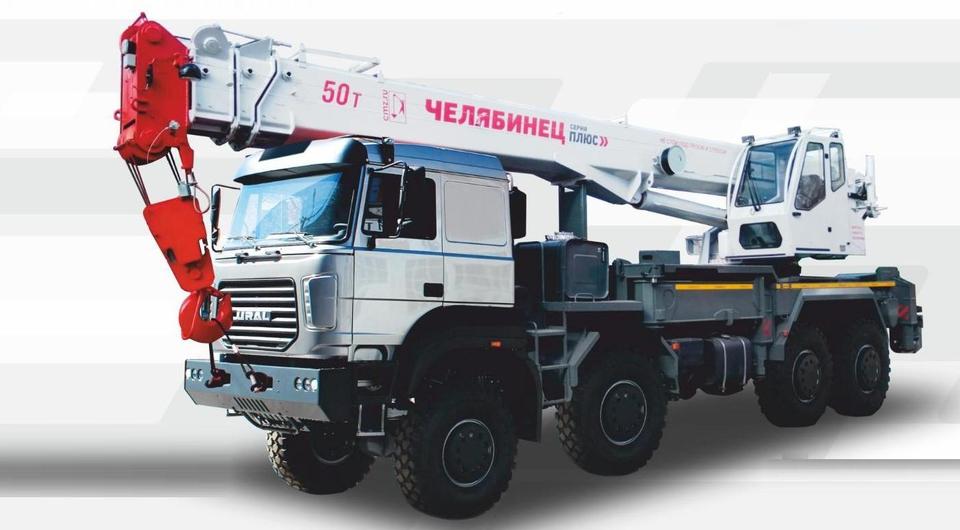 50-тонный «Челябинец» на новом уральском шасси