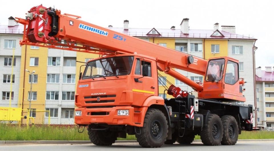 Модернизированы клинцовские 25-тонные автокраны