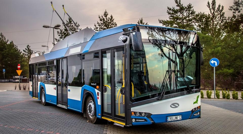 Solaris поставит троллейбусы во Францию