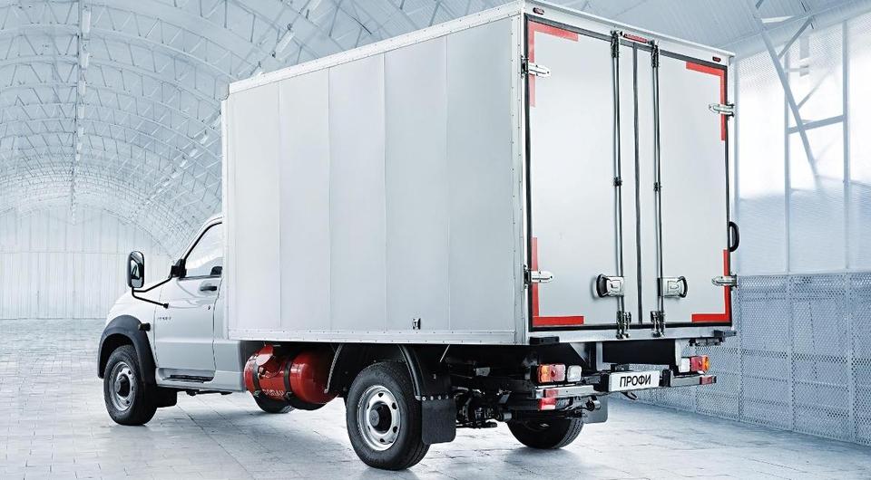 «УАЗ Профи»: рефрижератор с газовым оборудованием
