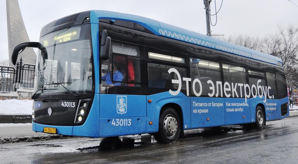 Миллион пассажиров московских электробусов