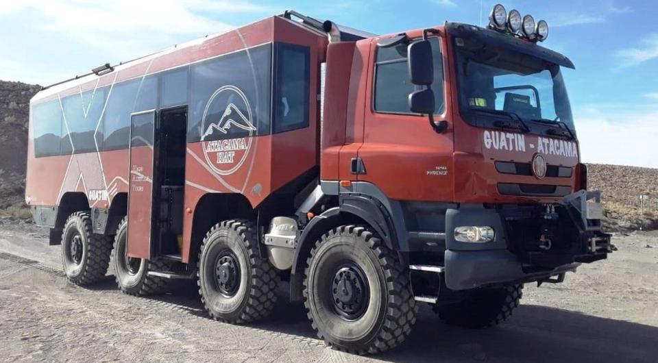 TATRABUS: необычный транспорт для гор и пустынь