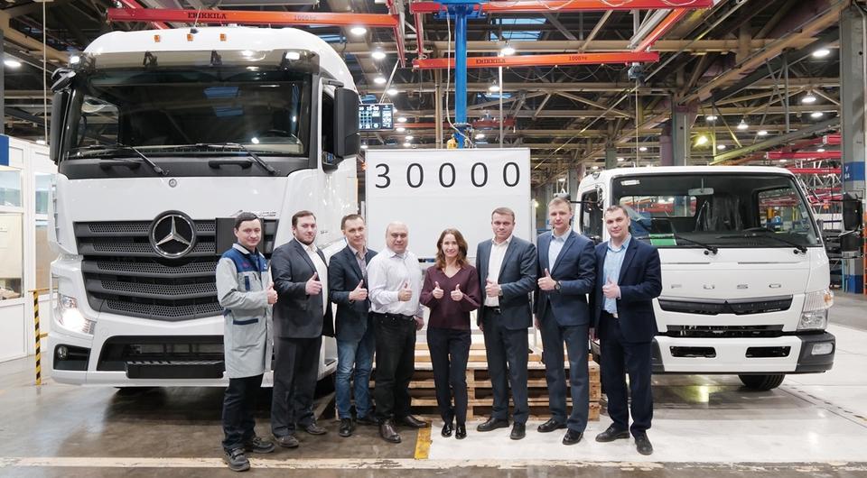 Завод «ДАЙМЛЕР КАМАЗ РУС»: есть 30 000 грузовиков!