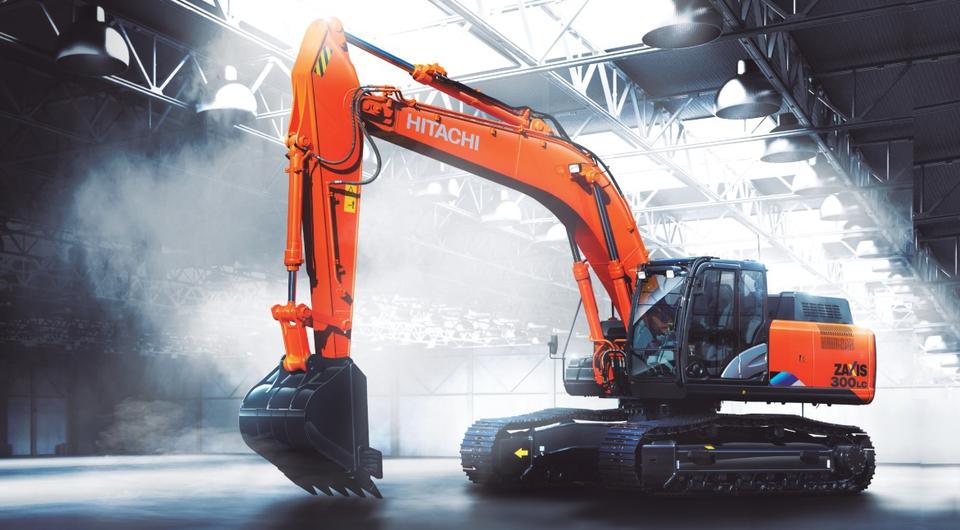 В России начат выпуск экскаваторов Hitachi ZX300-5A