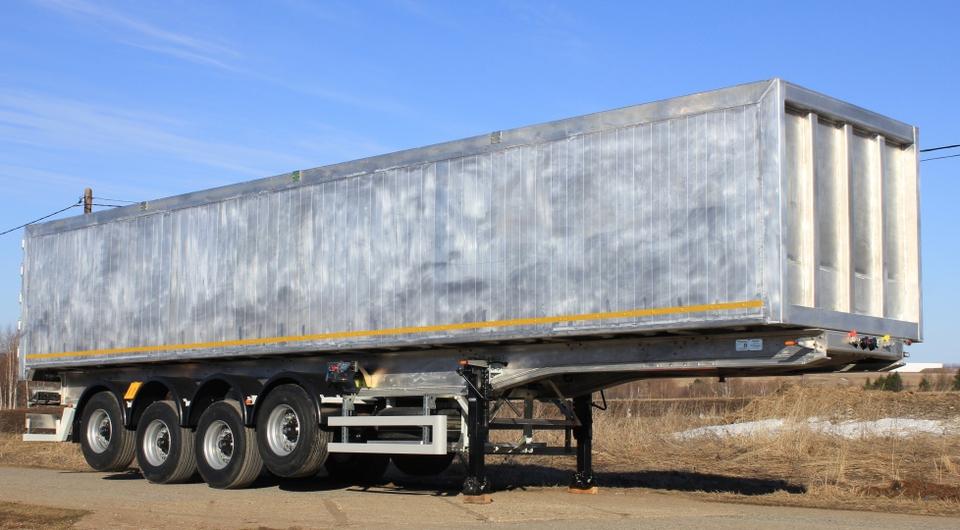 «Сеспель» вывел на рынок новый 60-кубовый зерновоз
