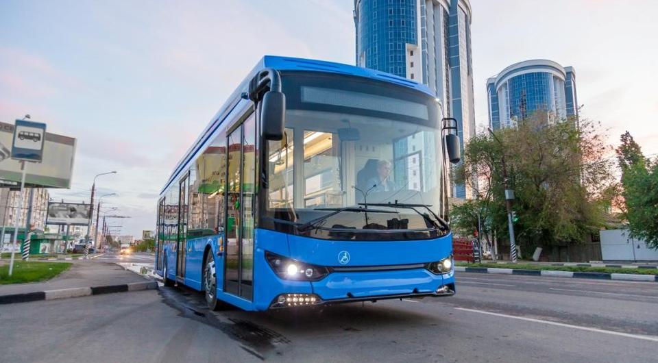 ТРОЛЗА: «Мегаполис» стал электробусом