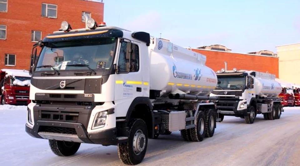 Топливозаправщики «Бецема» БЦМ-229 уехали в Новосибирск
