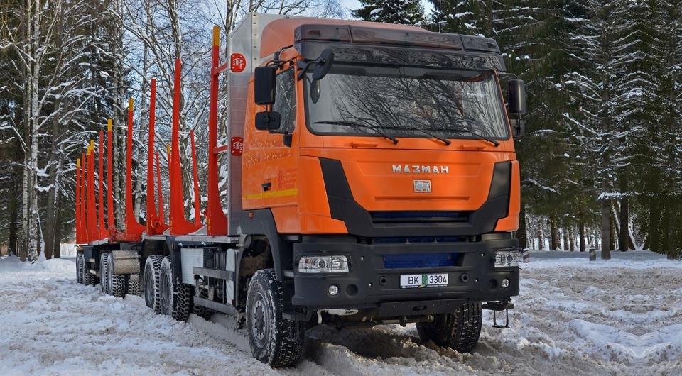 «МАЗ-МАН» и «Русский грузовик»: 90-тонный сортиментовоз