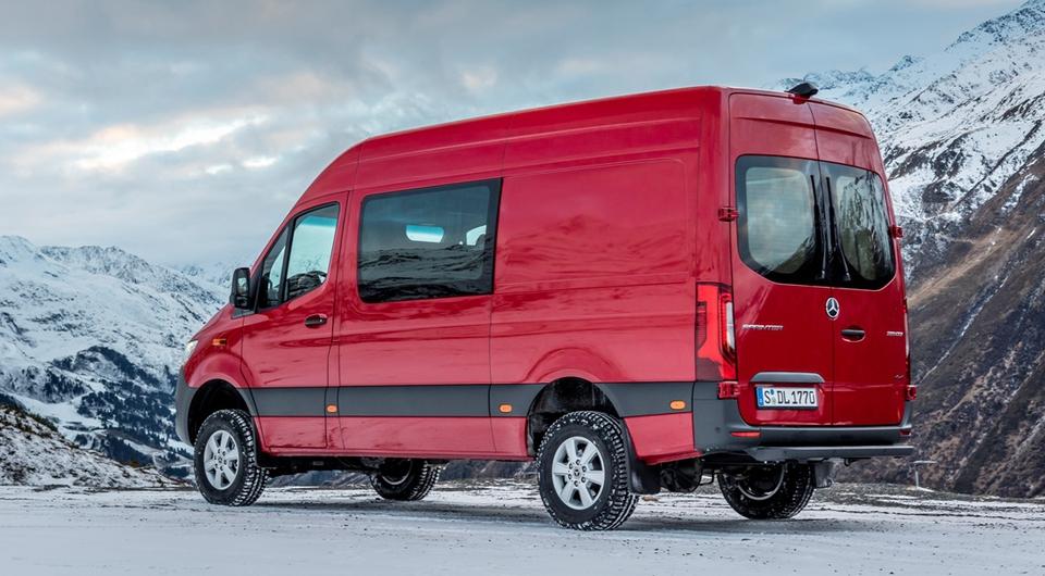 Mercedes-Benz Sprinter: версия с полным приводом