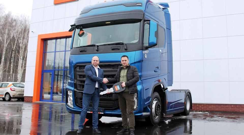 Первый Ford Trucks F-MAX передан российскому клиенту
