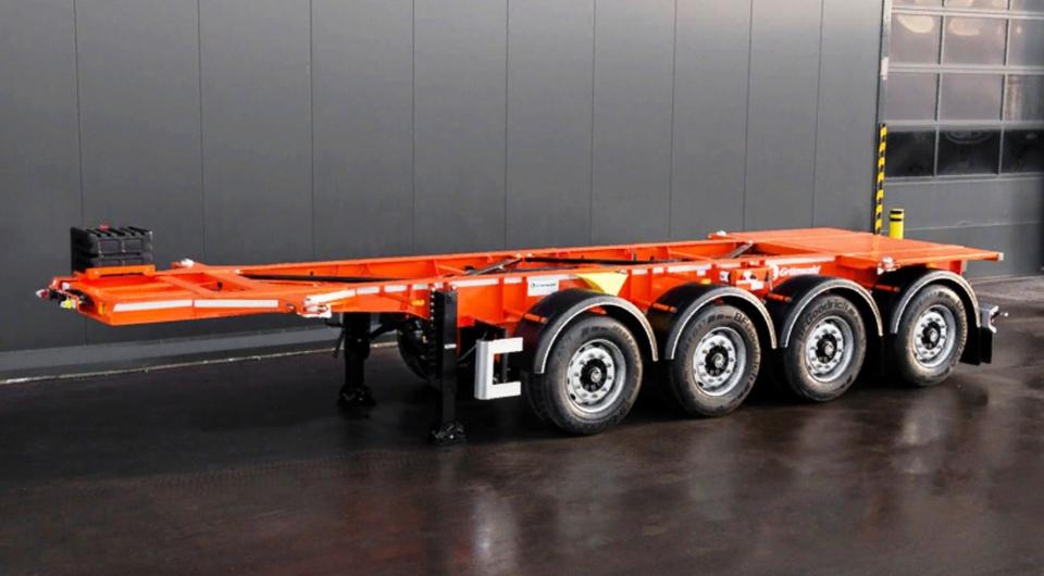 Grunwald представил полуприцеп для 20-футовых контейнеров