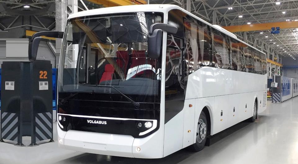 Volgabus для «Локомотива» вышел из цеха сборки