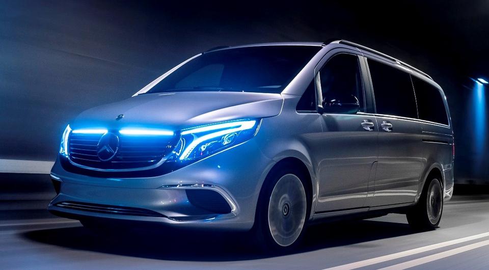 Mercedes-Benz Concept EQV: премиум-вэн готовят к серии