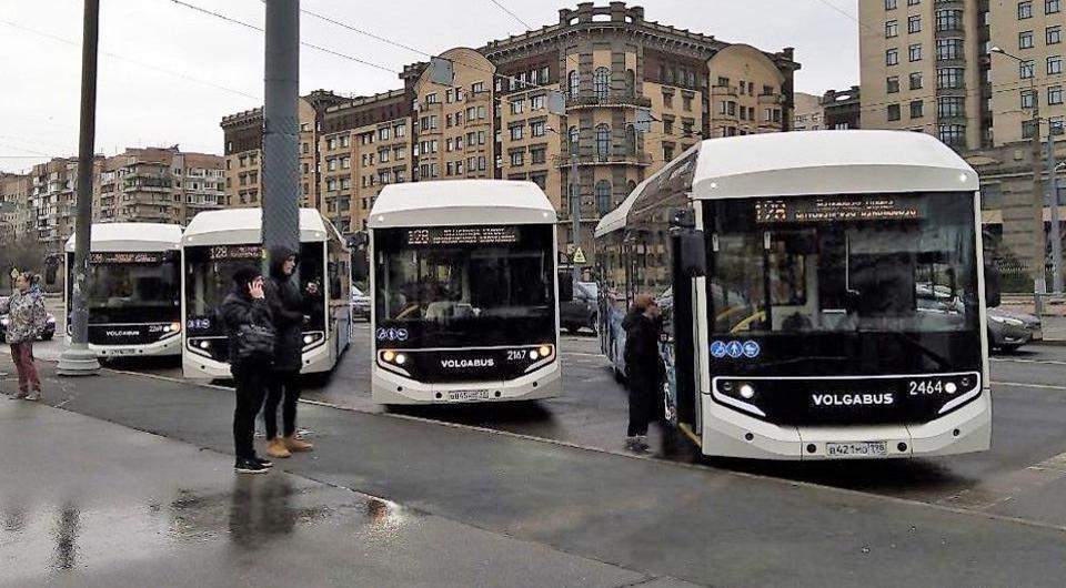 Электробусы Volgabus вышли на улицы Санкт-Петербурга