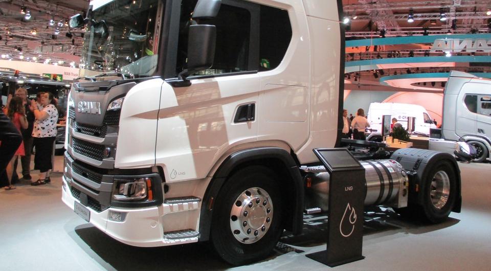 Scania лоббирует интересы зарубежных производителей газовых грузовиков