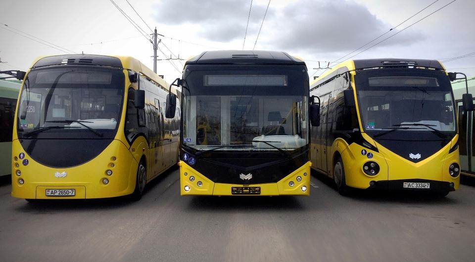 Первый электробус Е321 поставлен в Минск