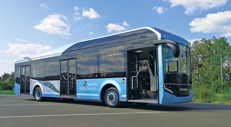 Электробус Volgabus опробуют в Калининграде
